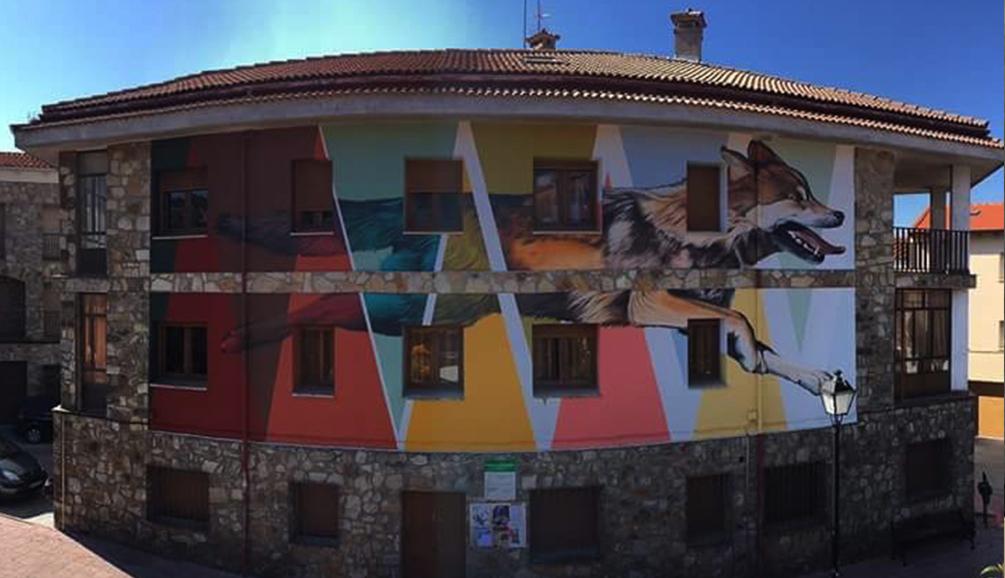 Ruta de las fachadas pintadas