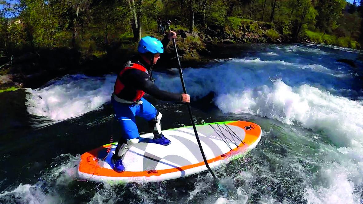 Surfeando el río Jerte